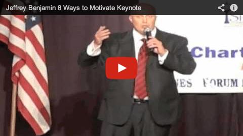 Jeffrey Benjamin's 8 Ways to Motivate at Sparks Chamber of Commerce